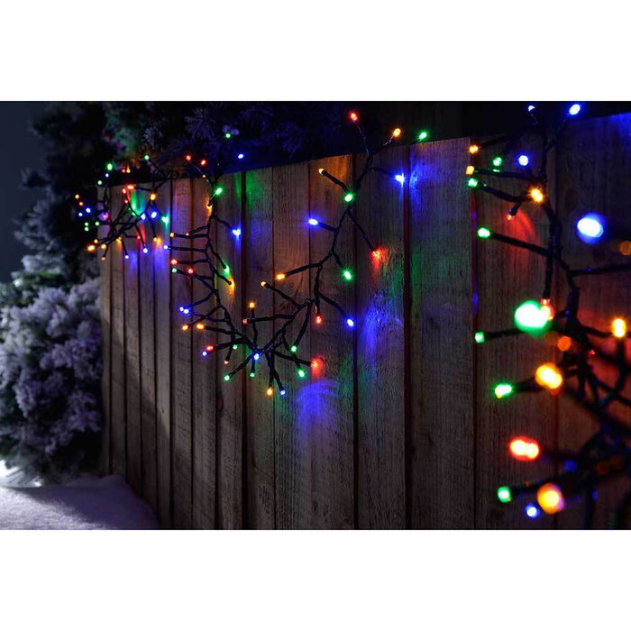 500-LED Chasing Cluster Light String, 7.5 m - Multi-Colour