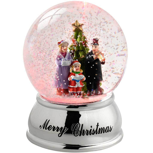 Carol Singer Colour Changing Snow Globe, 10 cm - Multi-Colour