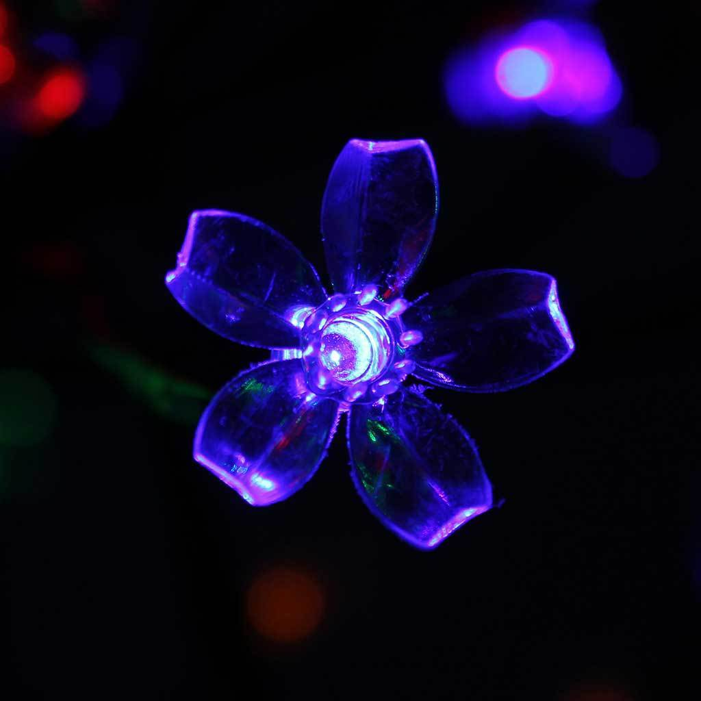 96 LED Lights Illuminated Cherry Blossom Tree Christmas Decoration, Multi-Colour, 2.5 ft/80 cm
