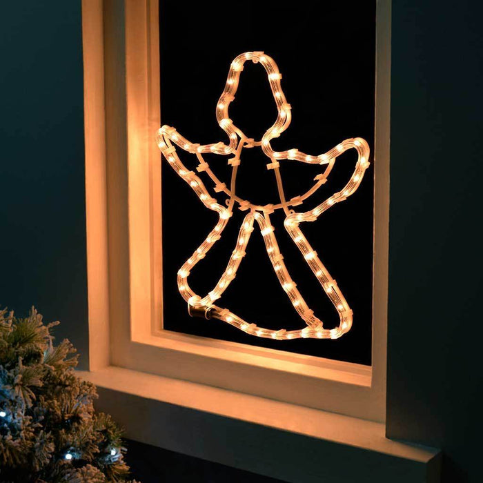 41 cm Large Angel Rope Light Silhouette Christmas Decoration