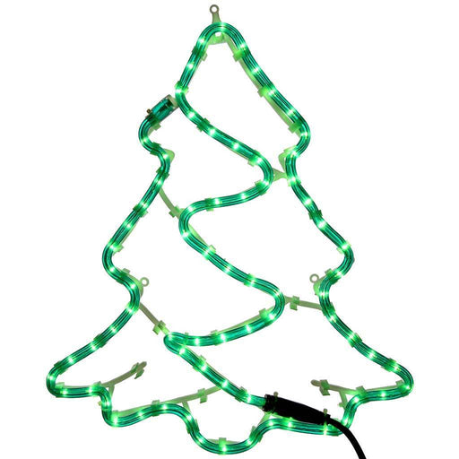43 cm Large Christmas Tree Rope Lights Silhouette Decoration