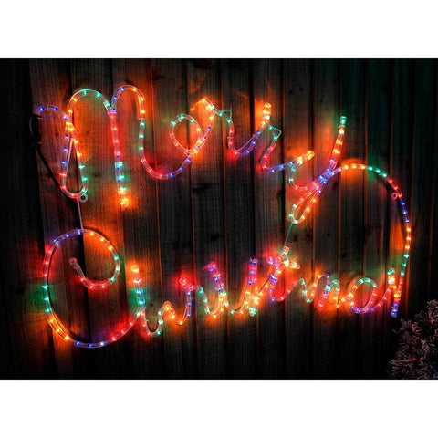 100 cm large merry christmas rope lights silhouette decoration previous 100 cm large merry christmas rope lights silhouette aloadofball Image collections
