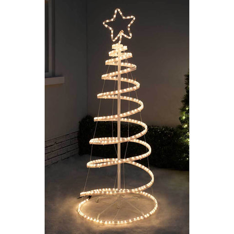 5ft 150 cm flashing 3d spiral christmas tree rope light silhouette previous 5ft 150 cm flashing 3d spiral christmas tree rope light silhouette aloadofball Image collections
