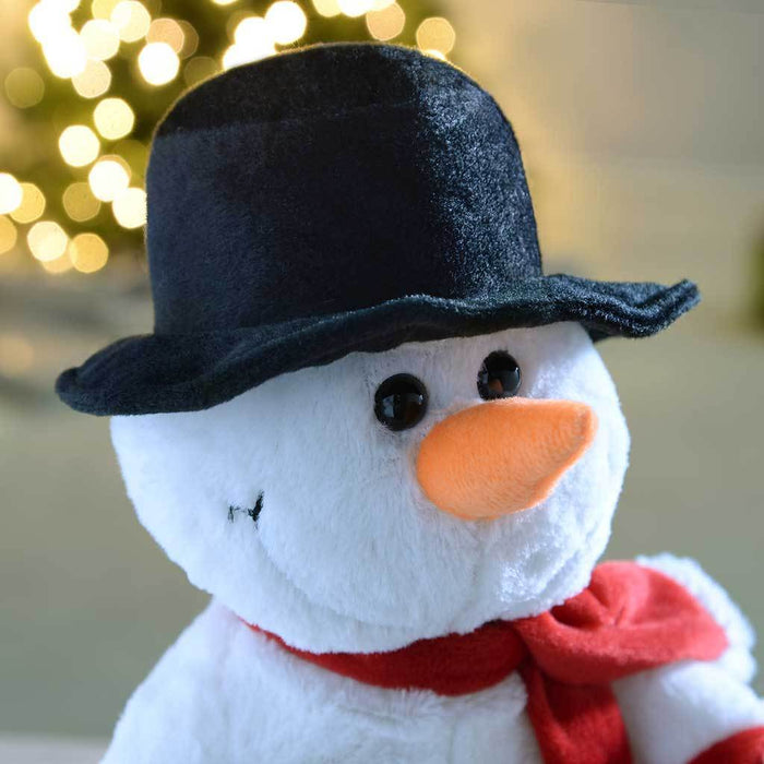 30 cm Walking/ Dancing and Singing Snowman Christmas Decoration