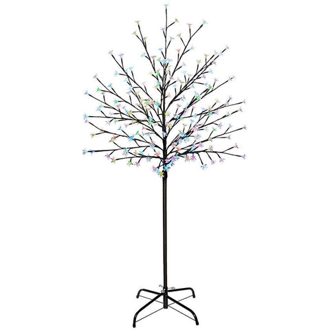 Pre-Lit 200 LED Illuminated Cherry Blossom Tree, Colour Changing, 5 ft/1.5 m