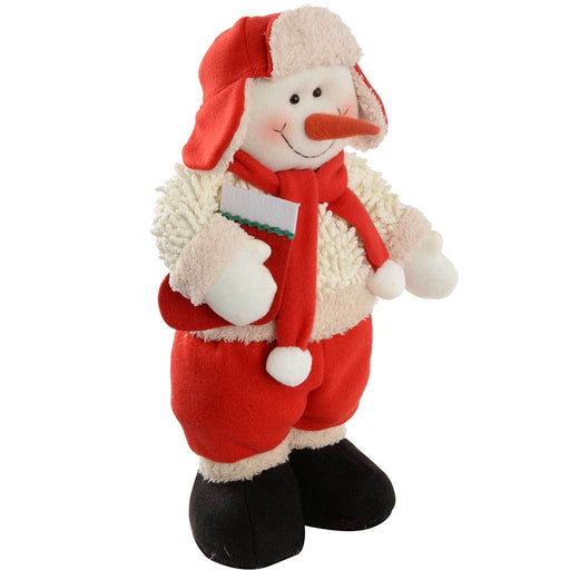 43 cm Standing Snowman Christmas Decoration