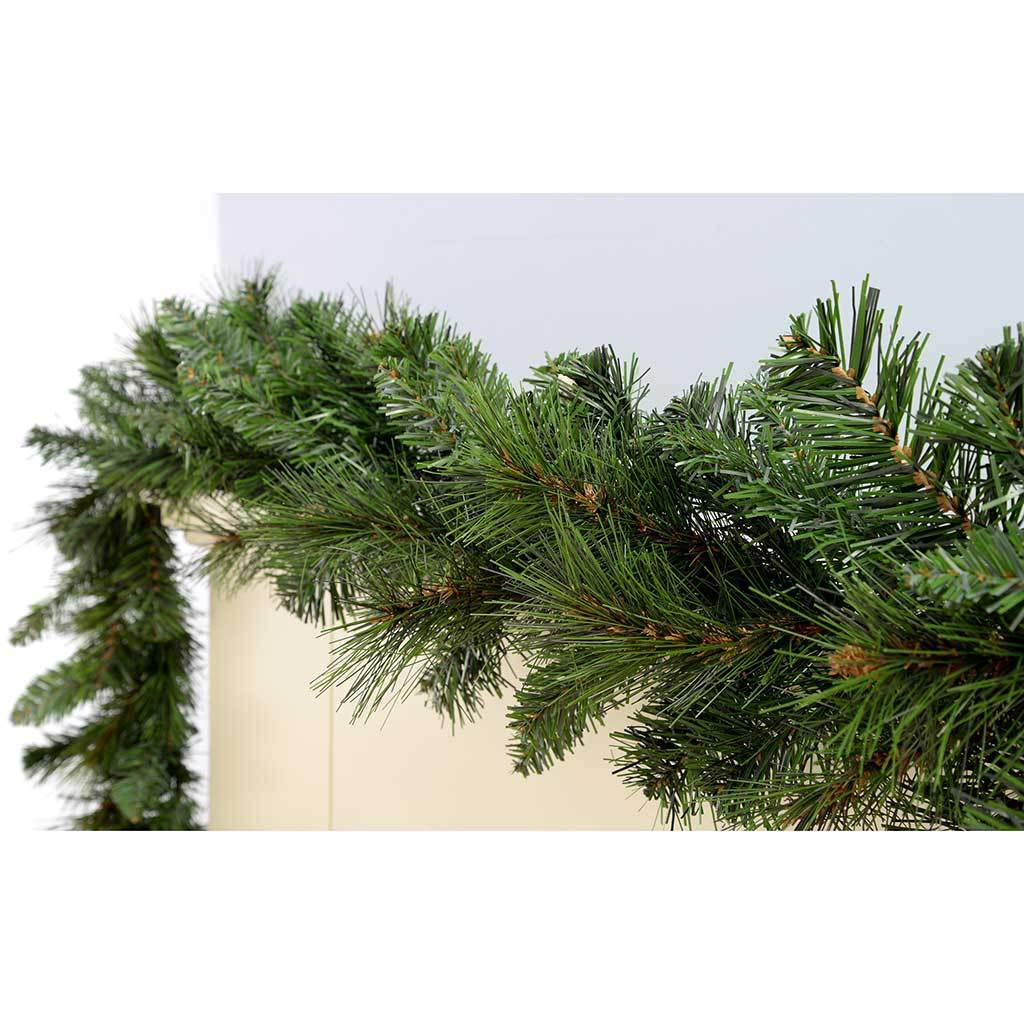 9 ft Victorian Pine Christmas Garland Decoration