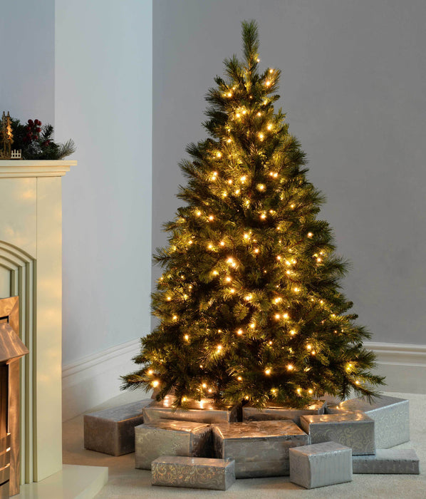 Victorian Pine Pre-Lit Multi-Function Christmas Tree With