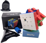SOKOYO 2020 Moyu Meilong M magnetic 2x2 3x3 magic cube 4x4 5x5 Stickerless speed cube magnet puzzle cube 2x2x2 3x3x3 4x4x4 5x5x5 (4x4x4) - ALBACUBE
