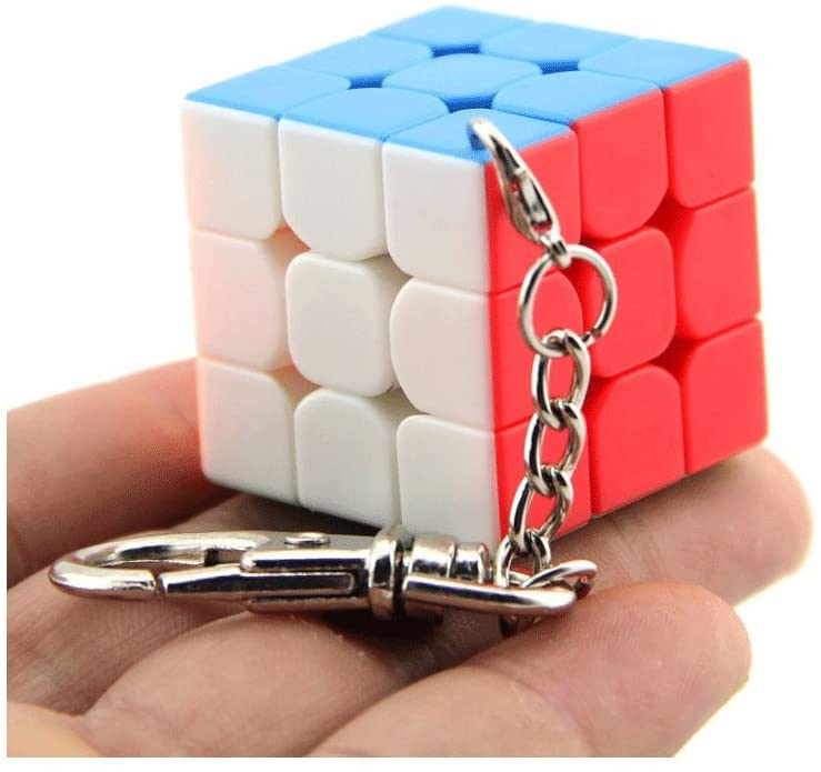 SOKOYO Moyu 3x3 Mini Cube Keychain Smooth Cube Pendant Children Puzzle Gift 35mm & 40mm - ALBACUBE