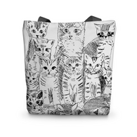 Tote Bag - Chatons - 4 pattes & Cie