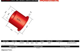 Nolathane - Holden Commodore VN-VZ - Rear Control Arm Bushing