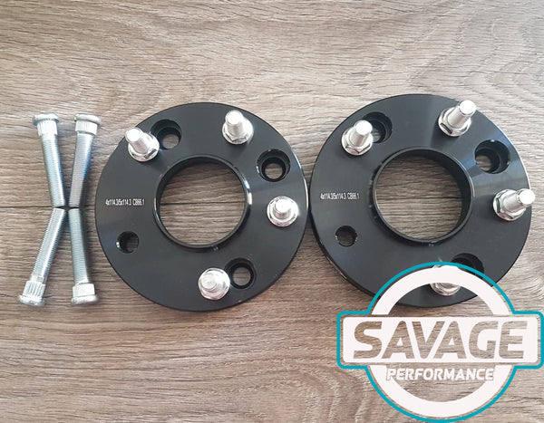 4x114 to 5x114 20mm CONVERSION Wheel Spacers NISSAN