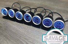 52mm Digital Savage EGT (Exhaust Gas Temperature) Gauge 7 Colours *Savage Performance*