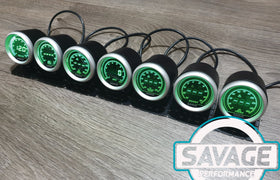 52mm Digital Savage Boost Gauge PSI 7 Colours *Savage Performance*