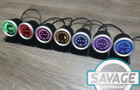 52mm Digital Savage RPM (Tacho) Gauge 7 Colours