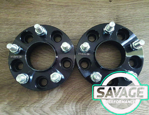 5x120 25mm Wheel Spacers HOLDEN COMMODORE VE VF *Savage Performance*