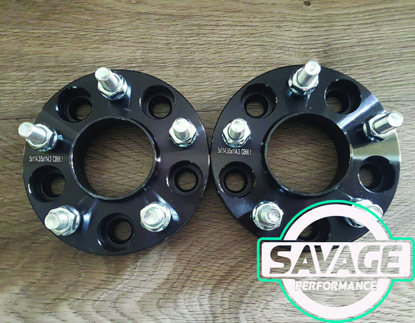 5x120 25mm Wheel Spacers HOLDEN COMMODORE VE VF