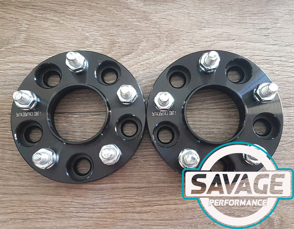 5x114 25mm Wheel Spacers MAZDA