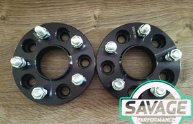 5x114 25mm Wheel Spacers FORD *Savage Performance*
