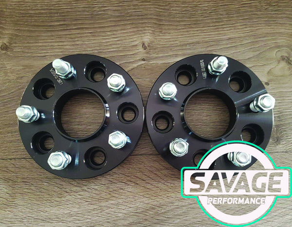 5x114 25mm Wheel Spacers NISSAN