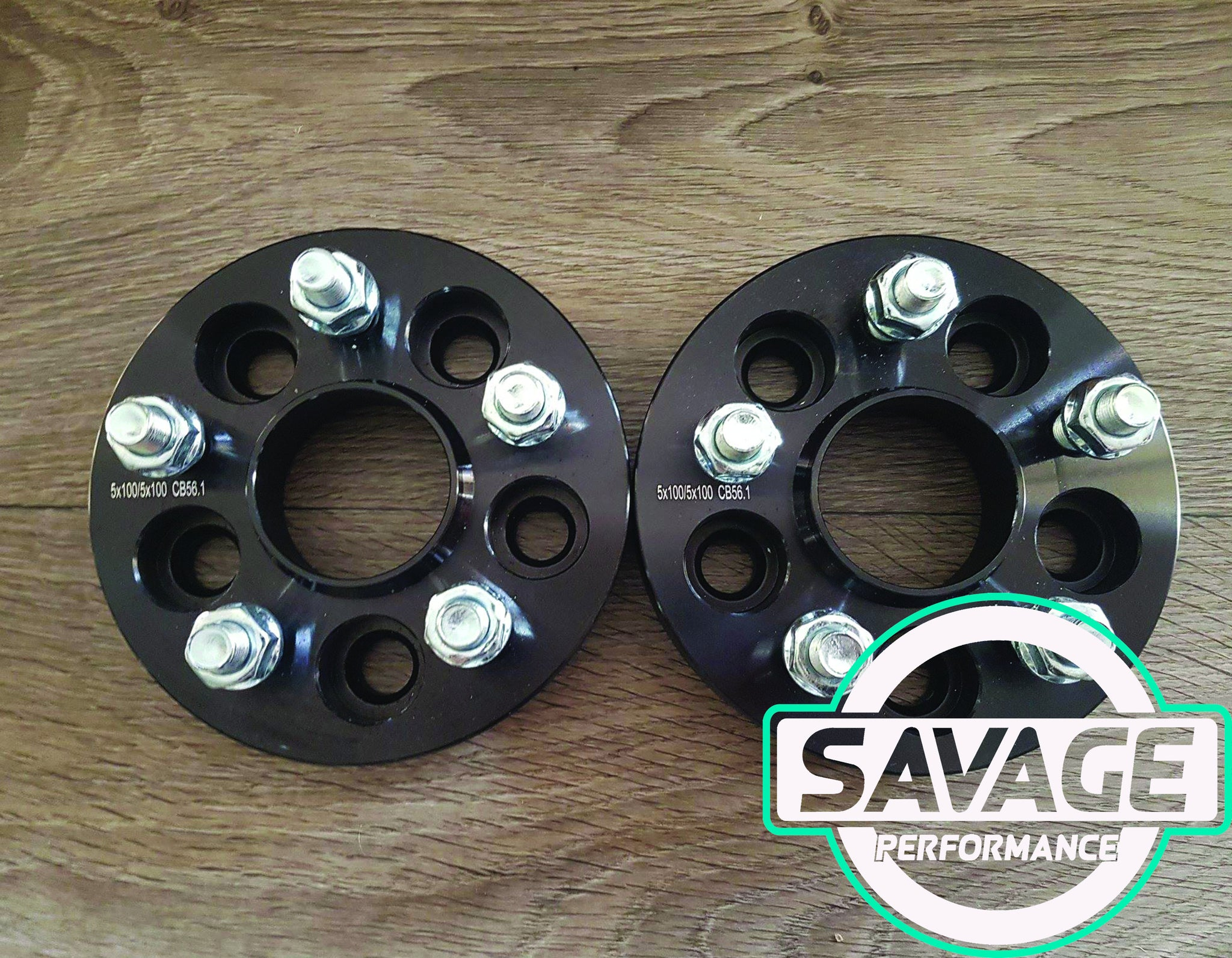 5x100 25mm Wheel Spacers SUBARU *Savage Performance*