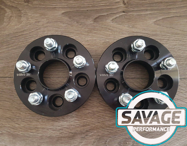 5x100 15mm Wheel Spacers SUBARU