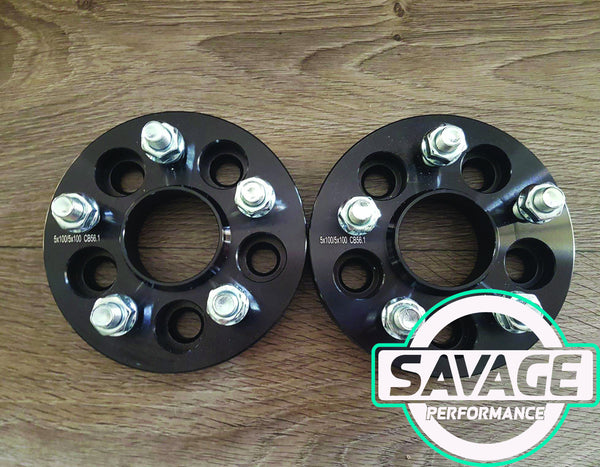 5x100 25mm Wheel Spacers SUBARU
