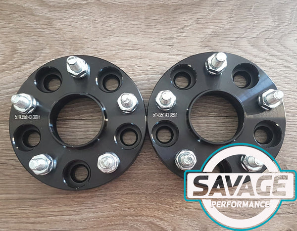 5x114 25mm Wheel Spacers suits TOYOTA *Savage Performance*
