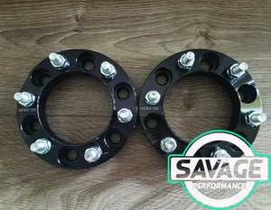 6x139.7 25mm Wheel Spacers NISSAN