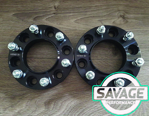 6x139.7 25mm Wheel Spacers FORD RANGER / MAZDA BT50