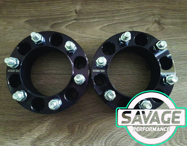 6x139.7 50mm Wheel Spacers NISSAN