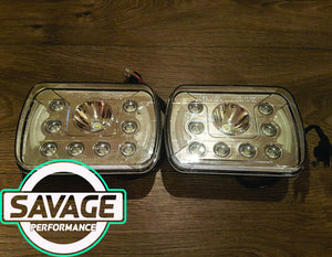 7 Inch x 5 Inch LED Headlights