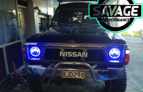7 Inch RAINBOW HALO Round LED Headlights