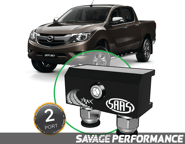 Diff Breather Kit - 2 Port suits MAZDA BT-50 2015- Onwards