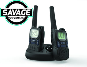 Crystal 2Watts Rechargeable Handheld UHF CB Radio (Pair) DBH20R
