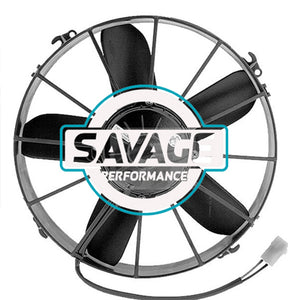 "Spal Universal 305mm 12"" 24V Pusher Straight Blade Fan 2912m3/h"