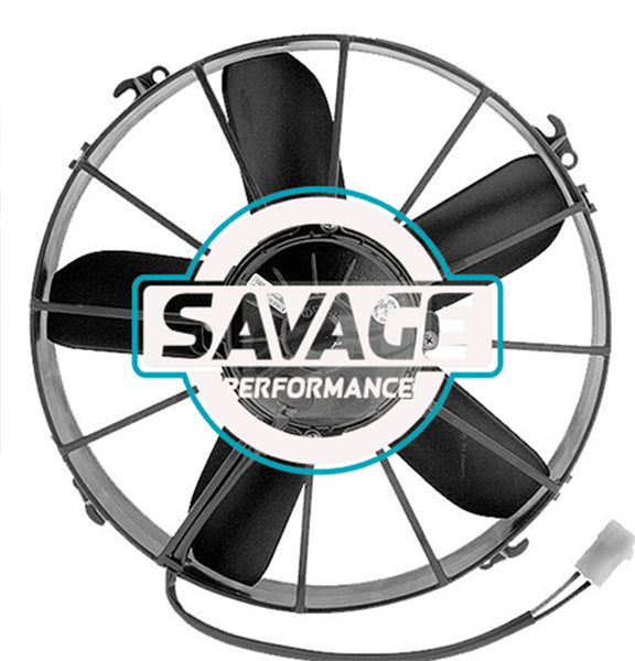 "Spal Universal 305mm 12"" 24V Pusher Straight Blade Fan 2760m3/h"