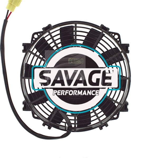"Maradyne - Champion Series Universal 190mm 8"" 24V Reversible Skew Blade Fan 820m3/h"
