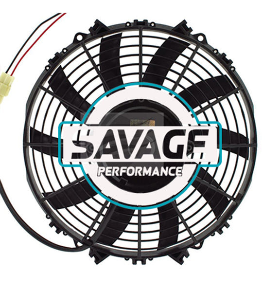 "Maradyne - Champion Series Universal 280mm 11"" 24V Reversible Skew Blade Fan 1822m3/h"