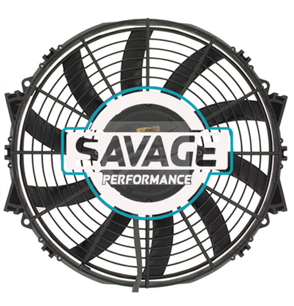 "Maradyne - Champion Series Universal 305mm 12"" 24V Reversible Skew Blade Fan 2000m3/h"