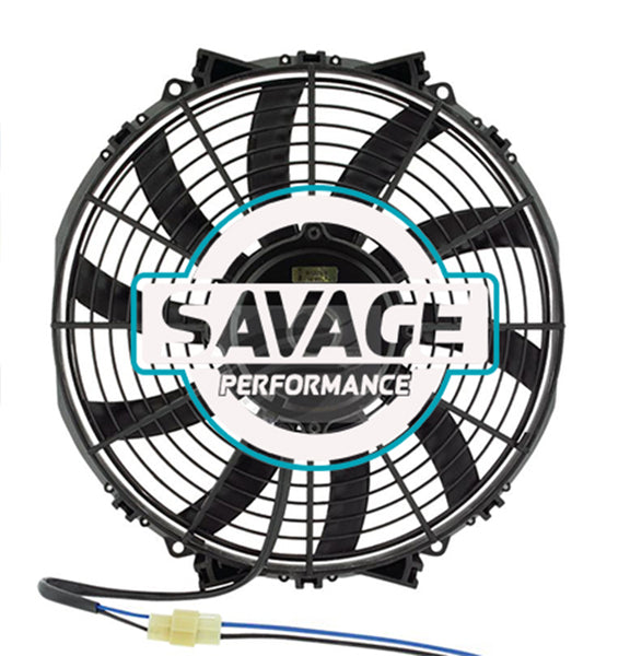 "Maradyne - Champion Series Universal 305mm 12"" 12V Reversible Skew Blade Fan 2653m3/h"