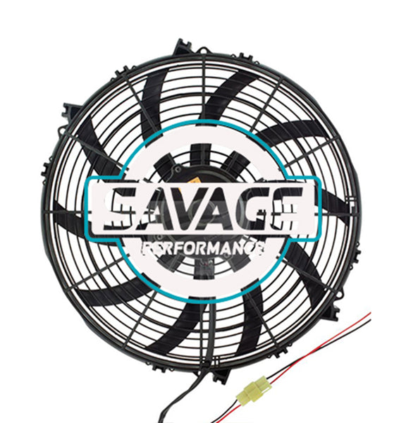 "Maradyne - Champion Series Universal 385mm 16"" 24V Reversible Skew Blade Fan 3478m3/h"
