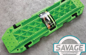 HULK 4x4 Recovery Tracks (GREEN) *Savage Performance*