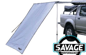 HULK 4x4 Side Wall Awning Grey 2.5m x 2.0m