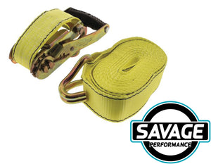 HULK 4x4 HD Ratchet Tie Down - 6m 2150kg 50mm