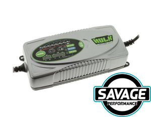 HULK 4x4 - 8 Stage Fully Automatic Battery Charger - 7.5 Amp 12/24v