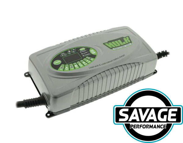 HULK 4x4 - 12 Stage Fully Automatic Battery Charger - 25 Amp 12/24V