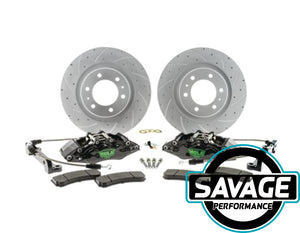 HULK 4x4 - Mazda BT50 - BIG Brake Upgrade Kit - Front