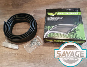 HULK 4x4 Fender Flares 2.0 Inch (51mm) 3m *Savage Performance*